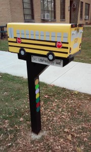 Installed Book Bus